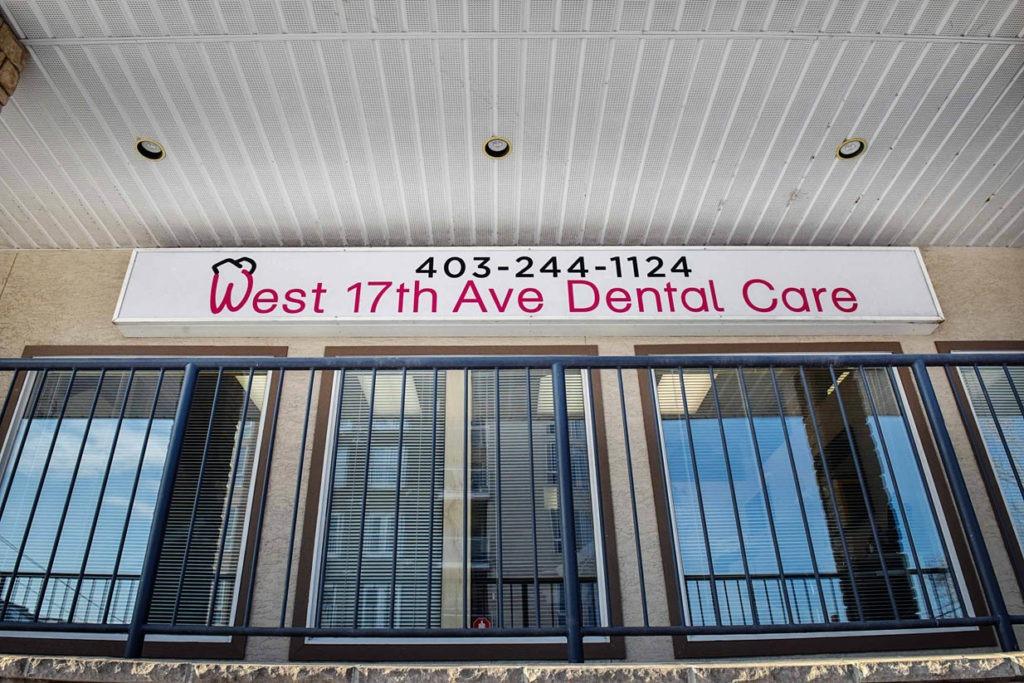 West 17th Avenue Dental | Main Floor Scarboro Village Sign
