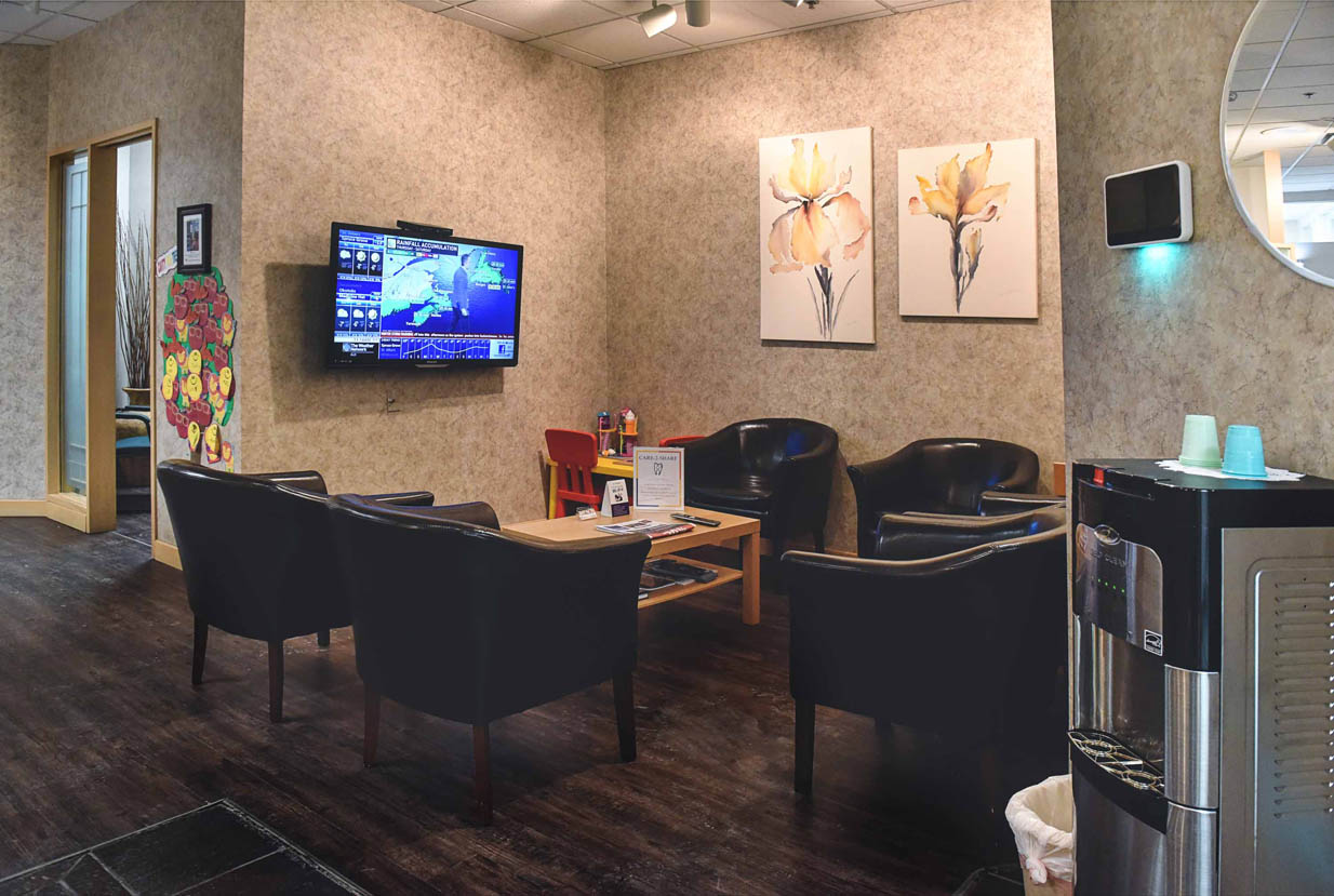 West 17th Avenue Dental | Waiting Area Entrance